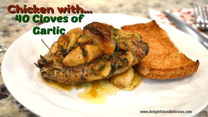 Chicken with 40 Cloves of Garlic-YT