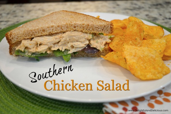 Southern Chicken Salad-Blog